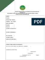 Formulir Pendaftaran Pendidikan Keterampilan Keperawatan Terpadu Ix