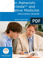 MS AyurVeda and Integrative Medicine Brochure