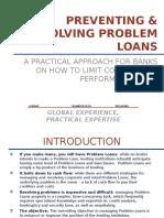 Principles of Problem Loan Management