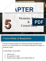 Central Bank & Monetary Policy