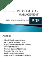 Problem Loan Management