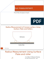 Radius Measurement New