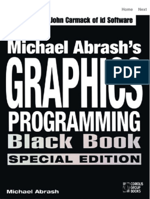 Michael Abrash's Graphics Programming Black Book, Special