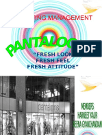 30928957 Pantaloons Project on Marketing