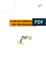 Resumen Plan Formacion RedXXI Educacyl Digital