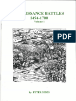 Peter Sides - Renaissance Battles 1494-1700 Vol. 1 (Gosling Press) [OCR]