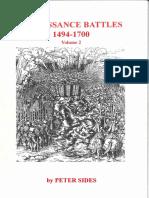 Peter Sides - Renaissance Battles 1494-1700 Vol. 2 (Gosling Press) [OCR]