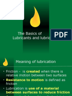 Basic of Lubricants Lubrication