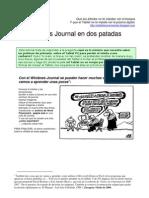 Windows Journal en Dos Patadas