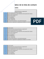 Funder and Investor Database Template