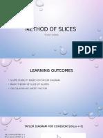 Method of Slices
