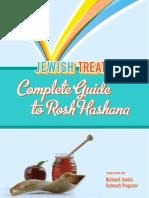 JewishTreats Complete Guide to Rosh Hashana