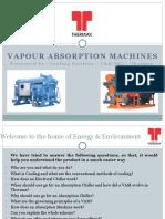 Vapour Absorption Machine Basics Presentation