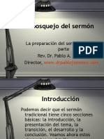 Preparacion de un sermon