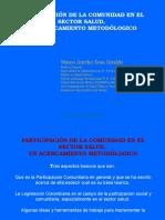 Participacion Comunitaria en Salud. Colombia.