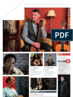 Acoustic Magagazine Issue 42 Contents