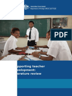 Supporting Teacher Development Literature Review
