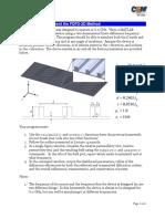 Homework 7 -- FDFD 2D