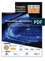 4eme Congré Applications Fibre Optique