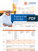 Posting/Secondment of Employees in Europe