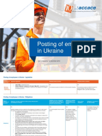 Posting/Secondment of Employees in Ukraine
