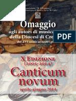 Cremona - Rassegna Canticum Novum 2014