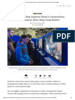 Video Games May Improve Brain's Connections; Action Gamers Have More Gray MatterDDP