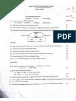 NPSSBS Class X Science Formative Assessment — I Set - 1 (2016-17)
