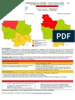Pollution aux particules fines dans l'Yonne