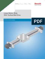 Linear Motion Slide Toothed Belt Drive