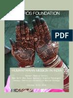 Humanitarian trip India 2016 Clarós Foundation