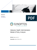 Veterans Health Adminstration Media and Policy Anlayisis