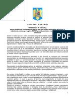 Proiect OUG Modificare Legea 50 Si Legea 350 PDF