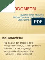 IODI-IODOMETRI