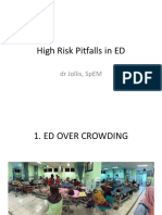 High Pitfalls in ED