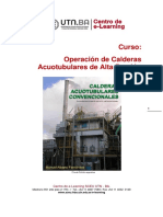 Modulo 3 Unidad N° 9 Curso operación de Calderas Acuotubulares de alta presión