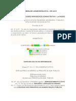 RESUMÃO IMPROBIDADE ADMINISTRATIVA.docx