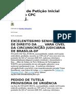 Modelo de Petição Inicial no Novo CPC.docx