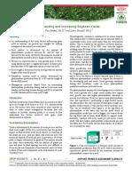 Understanding and Increasing Soybean Yield