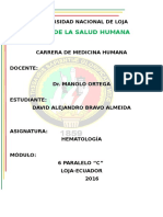 Semiología Del Paciente Hematológico