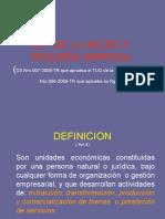 155602161-LEY-DE-LA-MICRO-Y-PEQUENA-EMPRESA.ppt