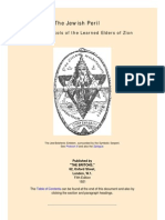 The Jewish Peril_ the Protocols of the Learned Elders of Zion, Published by the Britons