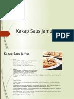 Kakap Saus Jamur