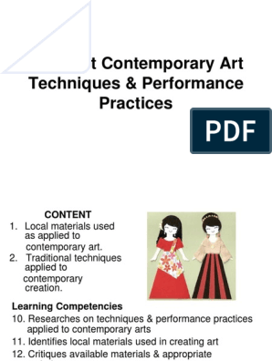 3Different Contemporary Art Techniques _ Performance
