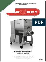 Torrey Molino Mezclador Manual de Usuario
