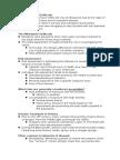 AP Env Human Health Notes