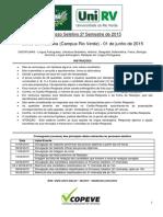 Medicina Rio Verde 2015-2