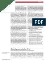 Misleading Communication of Risk - Gerd Gigerenzer
