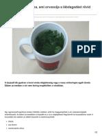 Tudasfaja.com-Íme Egy Hatékony Tea Ami Orvosolja a Lábdagadást Rövid Időn Belül