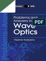 Vladimir Ryabukho Problems and Answers in Wave Optics